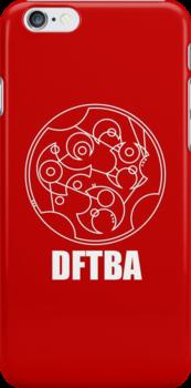 DFTBA - Gallifreyan (White) by Nephie Ripley