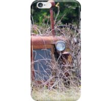 Tractor In The Weeds iPhone Case/Skin