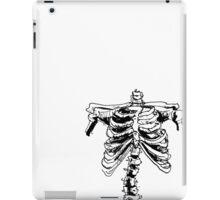 Sketchy Bones iPad Case/Skin