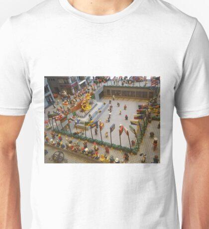 Lego Rockefeller Skating Rink, Lego Rockefeller Center Store, Rockefeller Center, New York City T-Shirt