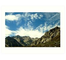 Pretty Day In The Sierras Art Print
