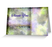 Thankyou Card: High up in the Forest Greeting Card