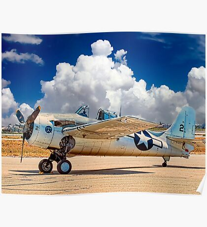F4F Naval Fighter Poster