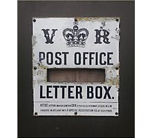 Post Office ~ Vintage Photographic Print