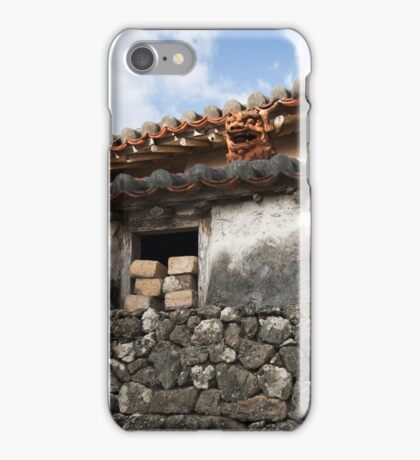 Okinawa Chisa House,  iphone 4 4s, iPhone 3Gs, iPod Touch 4g case iPhone Case/Skin
