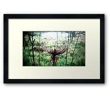 social Framed Print