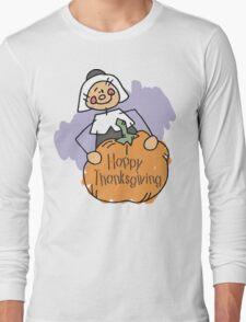 Happy Thankgiving Women's T-Shirt Long Sleeve T-Shirt