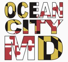 Ocean City, MD Design One Piece - Short Sleeve