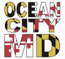 Ocean City, MD Design Kids Tee