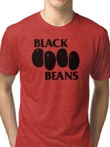 Black Beans Tri-blend T-Shirt