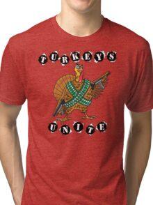 Very Funny Thanksgiving T-Shirt Tri-blend T-Shirt