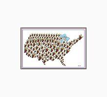 North America ASL I LOVE YOU Map Unisex T-Shirt