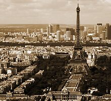 The Eiffel Tower from Montparnasse Tower by Emma Bolt