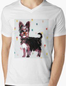 Yorkshire Terrier Mens V-Neck T-Shirt