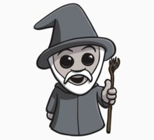 Cute Wizard (No Text) by Pat Scullion