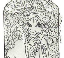 Dinah in a Bottle by redqueenself