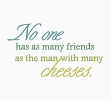 Cheese Friends colour for high necked One Piece - Short Sleeve