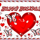 Happy Holidays by Elenne Boothe