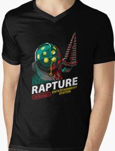 Rapture for NES Mens V-Neck T-Shirt
