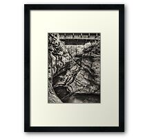 The Water Chute August 2012 Framed Print