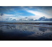 Skegness Beach England Photographic Print
