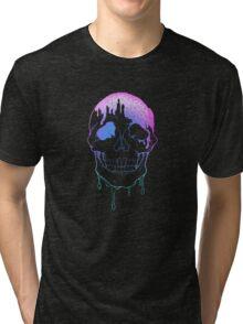 Glamour Skull Tri-blend T-Shirt