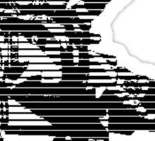 M.A.C. 2 (in black) Mecha Sticker