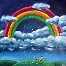Painting Rainblows by Ira Mitchell-Kirk