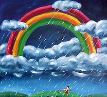 Painting Rainblows by Ira Mitchell-Kirk