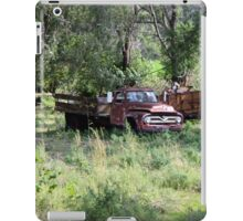 Abandoned Farm Truck iPad Case/Skin