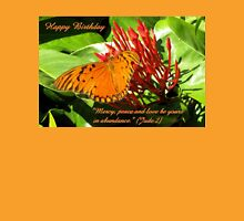 Birthday card butterfly Jude 2 Womens Fitted T-Shirt
