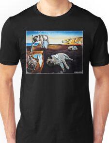 Persistence of Pugs Unisex T-Shirt