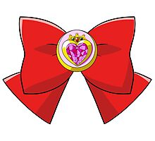 Sailor ChibiMoon Bow Photographic Print