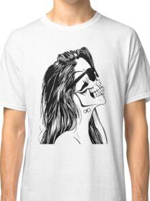 Swag Skull Girl Classic T-Shirt