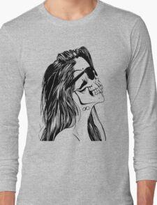 Swag Skull Girl Long Sleeve T-Shirt