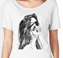 Swag Skull Girl Women's Relaxed Fit T-Shirt