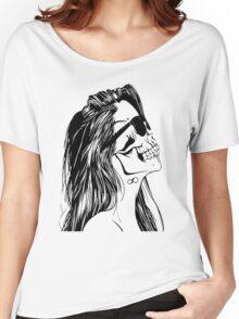Swag Skull Girl Women's Relaxed Fit T-Shirt