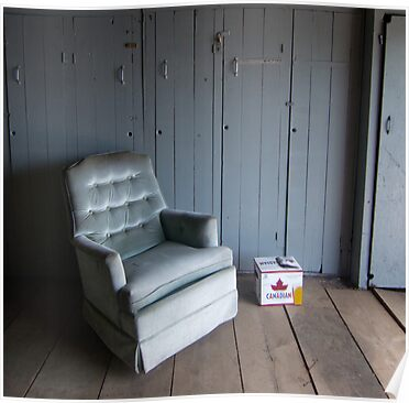 Muskoka Boat House Recliner by Mooke