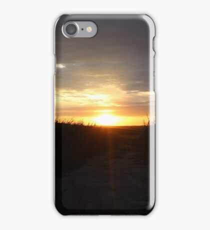 Cornfield Sunset iPhone Case/Skin