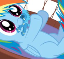 Most Adorable Rainbow Dash  Sticker