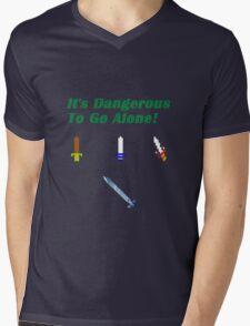 Link Sword Evolution Mens V-Neck T-Shirt