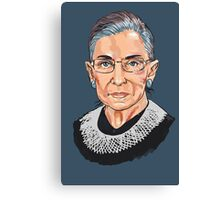 Supreme Court Justice Ruth Bader Ginsburg Canvas Print