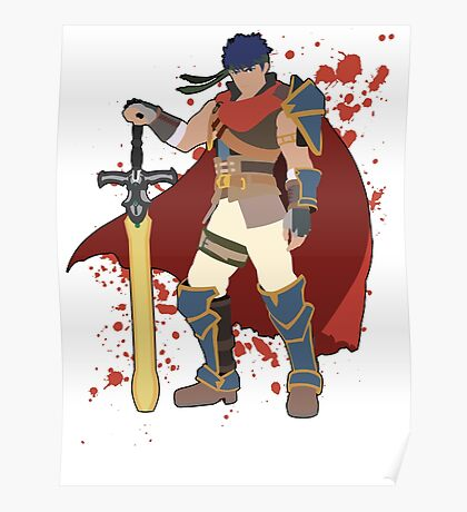 Ike - Super Smash Bros Poster
