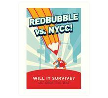 RedBubble vs. NYCC Art Print