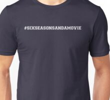 Six Seasons and a Movie! - Community! - White Unisex T-Shirt
