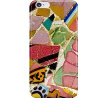 Gaudi mosaic flower art iPhone Case/Skin
