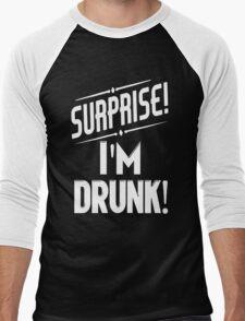 Surprise I'm Drunk Men's Baseball ¾ T-Shirt