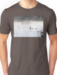 Fishing for breakfast Unisex T-Shirt