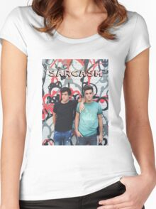 Dolan Twins Sarcasm Women's Fitted Scoop T-Shirt