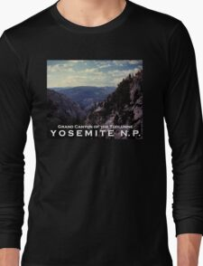 Grand Canyon of the Tuolumne - Yosemite N.P. Long Sleeve T-Shirt
